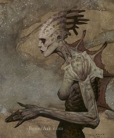 Reminds me of something out of Mass Effect...Gerald Brom