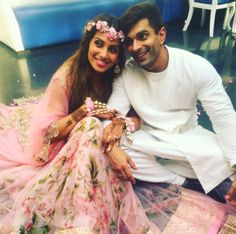 Bipasha Basu & Karan Singh Grover Share Adorable Pictures of their Pre-Wedding Ceremonies (April end, 2016)