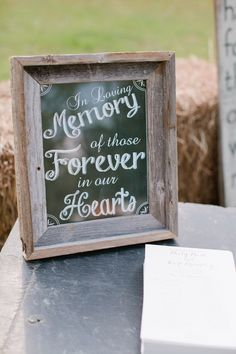 How to remember loved ones at your wedding Image by Freshly Bold Photography -www.freshlybold.com