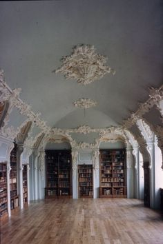 Book Porn • miss-mandy-m: Library of Rolduc, Netherlands