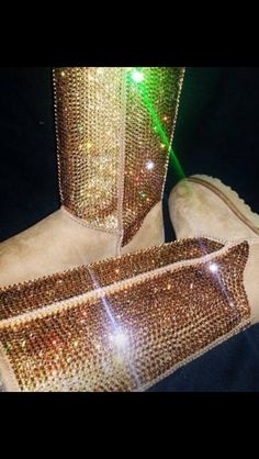 Bling'd UGG's 2013 these would look cute for the new year #sparkle