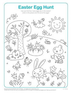 Easter Worksheets for Kids. 20 Easter Worksheets for Kids. Happy Easter Worksheet for Kids Preschool and Kindergarten Easter Activities For Kids, Easter Games, Easter Crafts For Kids, Easter Worksheets, Easter Printables, Printable Worksheets, Printable Coloring, Free Printable, Easter Coloring Pages