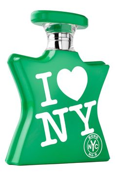 I Love New York Earth Day by Bond No. 9 Fragrance.    Top notes: tangerine, lush orchid, orange flower water; middle notes: tuberose, muguet, orris; base notes: musk, amber, oak moss, sandalwood.