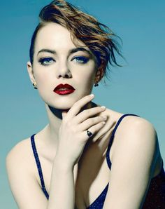 Emma Stone photographed by Mary Ellen Matthews for SNL.