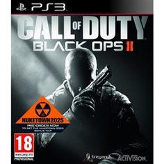 Black Ops 2 Pre Order.  $63.99