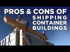 Cool Shipping Container Homes, Awesome Homes made from Shipping Containers - YouTube #containerhome #shippingcontainer
