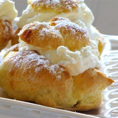"""Cream Puffs I """"This was so simple. And the cream filling is to die for, I added a little almond extract to mine."""""""