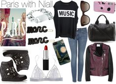 """Paris with Niall"" by wtf-towear ❤ liked on Polyvore"