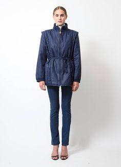 Pierre Cardin | Vintage Belted Down Jacket | RESEE