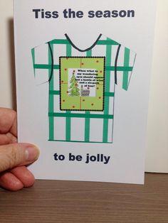 Tiss the season to be jolly   /      humorous Holiday card