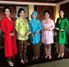 Model Kebaya Kutu Baru Muslim Modern