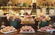 Bolo de casamento naked cake bistro ruella