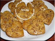 Pastas de té con almendras y sésamo marroquíes