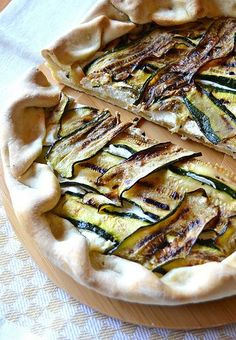 Dolci a go go Ricotta, Camembert Cheese, Zucchini, Food And Drink, Pizza, Vegetables, Eat, Ethnic Recipes, Merry