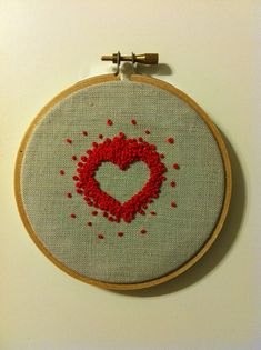 Really creative use of french knots.