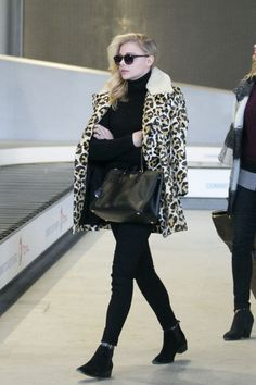 Chloë Grace Moretz's Coach ensemble. See 5 other celebrities whose early spring outfits killed it.