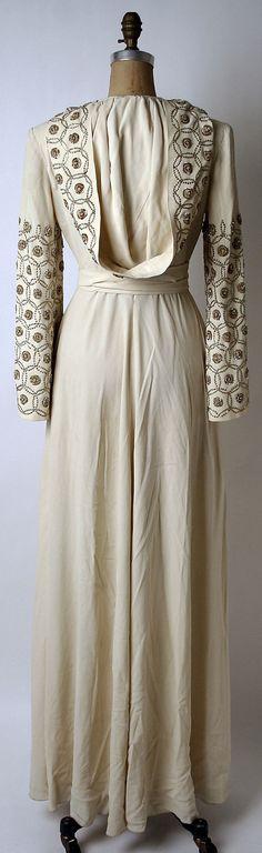 Wedding dress 1942, Norman Norell