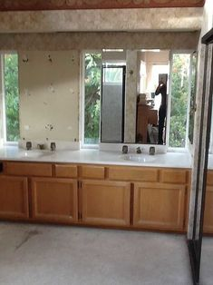 Turn An Outdated Bathroom Into A Spa-Like Paradise - My aunt has been living with an outdated bathroom for 15 years, and the shower & tub were unusable due to a. Restroom Decor, Remodel, Shower Remodel Diy, Bathroom Makeover, Small Shower Remodel, Floor Remodel, Bathroom, Bathrooms Remodel, Bathroom Decor