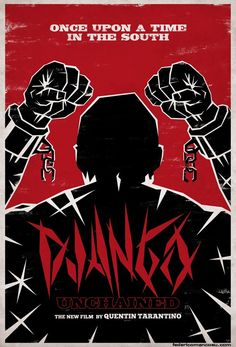 What do you think of this Django Unchained Fan Poster by Federico Mancosu? #DjangoUnchained #fanart