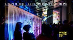 Moment Factory a été invité à créer une scénographie multimédia pour la soirée dédiée aux 80 ans d'Alfred Dallaire Memoria et au…