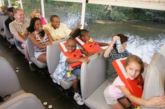 Ride the Ducks at Stone Mountain Park.