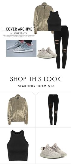 """adidas"" by hordalinich on Polyvore featuring adidas Originals, Topshop, adidas, women's clothing, women's fashion, women, female, woman, misses and juniors"