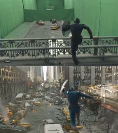 46 Famous Movie Scenes Before And After Special Effects Chroma Key, Famous Movie Scenes, Famous Movies, Movie Special Effects, Por Tras Das Cameras, Avengers, Film Studio, Marvel Movies, Marvel Marvel