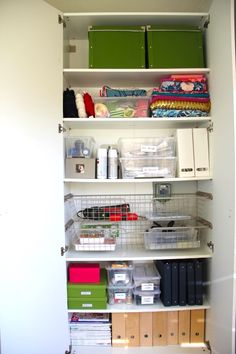 office supply storage ideas. Unique Supply Organized Cabinet  DIY Office Supply Storage Idea  Office Pinterest Storage  Ideas Organizing And To Supply Ideas