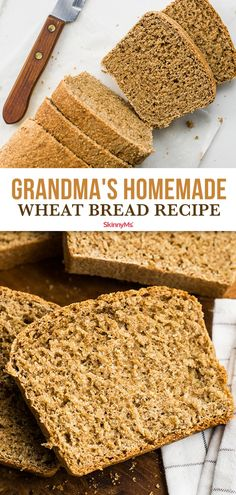 This homemade wheat bread recipe features the delightfully nutty taste of wheat in a fine-grained moist faintly sweet loaf. This homemade wheat bread recipe features the delightfully nutty taste of wheat in a fine-grained moist faintly sweet loaf. Oven Recipes, Slow Cooker Recipes, Bread Recipes, Cooking Recipes, Ww Recipes, Recipies, Clean Eating Recipes For Dinner, Clean Eating Meal Plan, Dinner Recipes