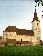 Sura Mare, Evangelical fortified church, Photo: Hermann Fabini