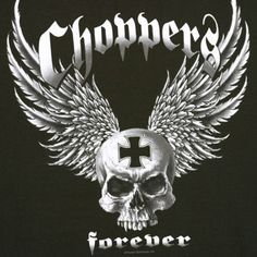 Choppers Forever Black Motorcycle T Shirt