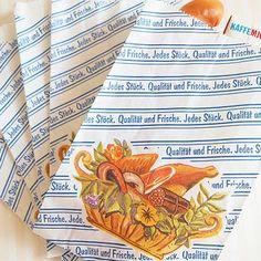 マルシェ袋 ドイツ 海外市場の紙袋 (フレッシュソーセージ)5枚セット - 生活・輸入雑貨『Zakka MiniMini』 フランス雑貨など海外のかわいい雑貨・ガーリー雑貨・蚤の市雑貨・ハンドメイド雑貨・コレクタブル・アンティークのお店