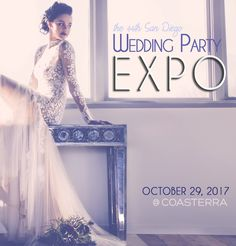 Save the Date! October 29, 2017 we celebrate your wedding with the 44th Wedding Party EXPO!  http://www.sandiegoweddingparty.com/blog/2017/8/28/save-the-date-october-29-2017-we-celebrate-your-wedding-with-the-44th-wedding-party-expo
