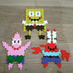 Plus plus spongebob Plus Plus Modele, Plus Plus Construction, Fun Activities For Kids, Pattern Blocks, Spongebob, Legos, Tween, Big Kids, Kindergarten