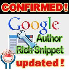 Author Rich Snippet Hilang di serp google