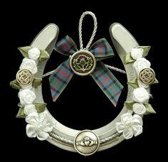 Scottish-Irish Wedding Horseshoe by wildbrumbi, via Flickr