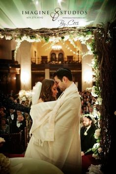 Beautiful Jewish Wedding Ceremony Moment captured by Imagine Studios