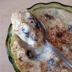 Riz au lait au miel et aux raisins secs @ qc.allrecipes.ca