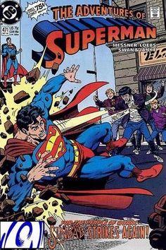 Adventures of Superman Digital Comics - DC Entertainment Dc Comics, Superman Action Comics, Batman And Superman, Superman Stuff, Mundo Superman, Adventures Of Superman, Superman Family, Silver Age Comics, Classic Comics
