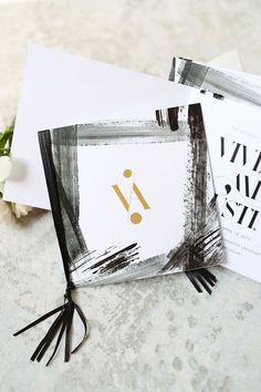 Browse unique wedding invitation ideas for modern brides | Elegant Watercolor Invites by Livia Paul