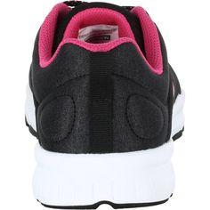 042273f895fa Scarpe donna cardio fitness 100 nero-rosa