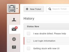 interesting concept in UI design. Great way to set user section