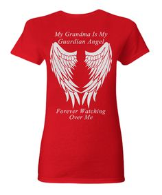 Grandma Guardian Angel - Women's T-Shirt