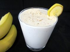 This creamy yoghurt and banana smoothie is lifted up with a dash of ground…