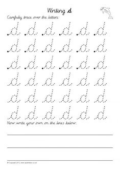 A set of basic worksheets where pupils trace and write lowercase letters from a-z in cursive script. Cursive Letters Worksheet, Cursive Small Letters, Handwriting Practice Worksheets, Handwriting Alphabet, Cursive Script, English Cursive Writing, Teaching Cursive Writing, Writing Letters, Montessori