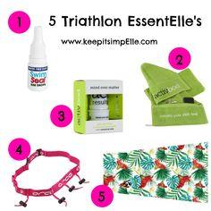 5 Triathlon Essentials - keep it simpElle Sprint Triathlon Training Plan, Swim Technique, Learn To Swim, Mind Over Matter, Improve Yourself, Essentials, Journey, Swimming, How To Plan