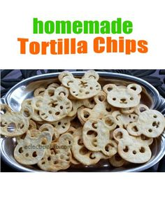 Homemade Tortilla Chips, great for #party! #partyfood