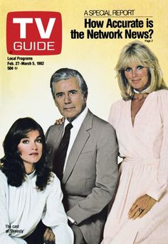 DYNASTY - 1982 - TV GUIDE