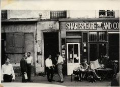 sylvia beach shakespeare and company paris - Google Search