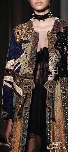 Fashion Arabic Style Illustration Description Valentino 2016 Fall Haute Couture